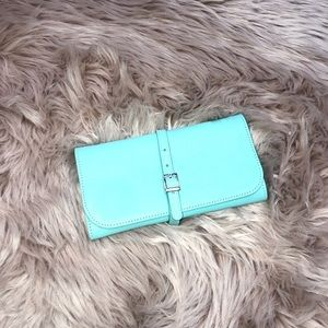 Tiffany And Co Turquoise Clutch